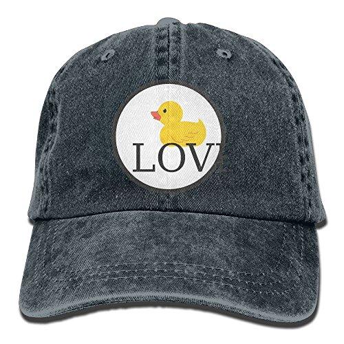 GqutiyulU Duck Love Adult Cowboy Hat Navy ()