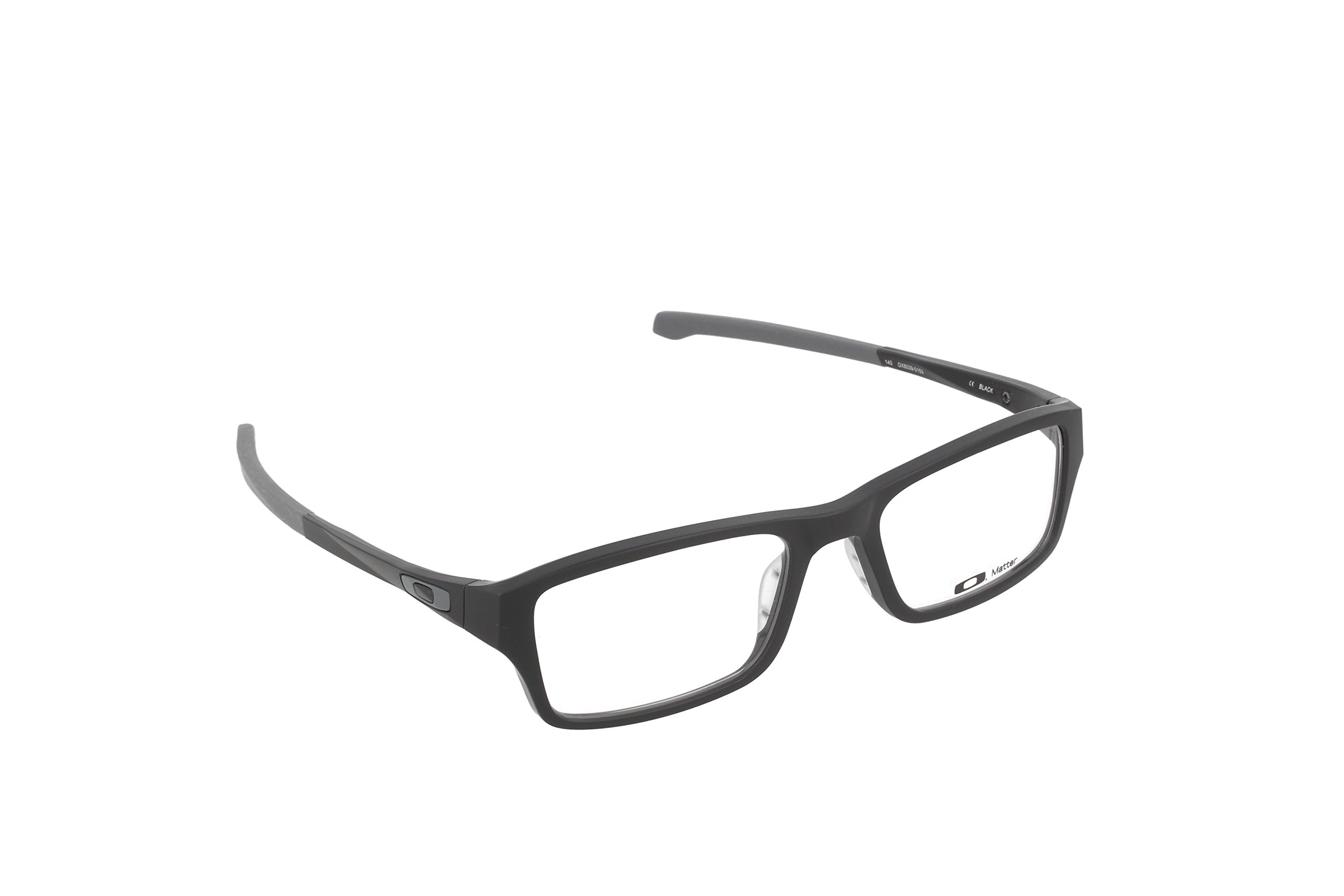 Oakley Chamfer OX8039-0153 Eyeglasses Satin Black Clear Demo 53 18 by Oakley