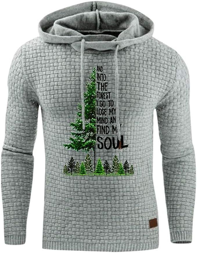 Jujia clothing Magliette di Natale Maglione Babbo Natale
