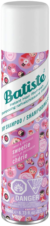 Batiste Dry Shampoo Spray, Sweetie Scent, 200-ml 87171