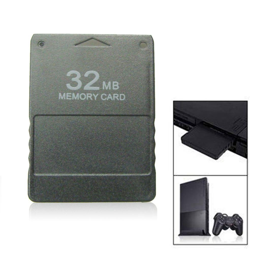 Amazon.com: LAYOPO 32/128/256MB PS2 Memory Card PS2 SD Card ...