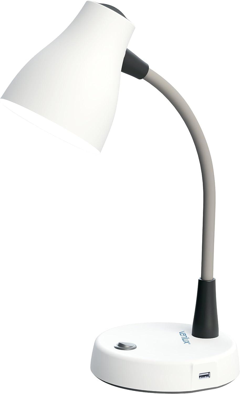 Verilux VD14WW1UP Tazza Natural Spectrum Desk Lamp, White