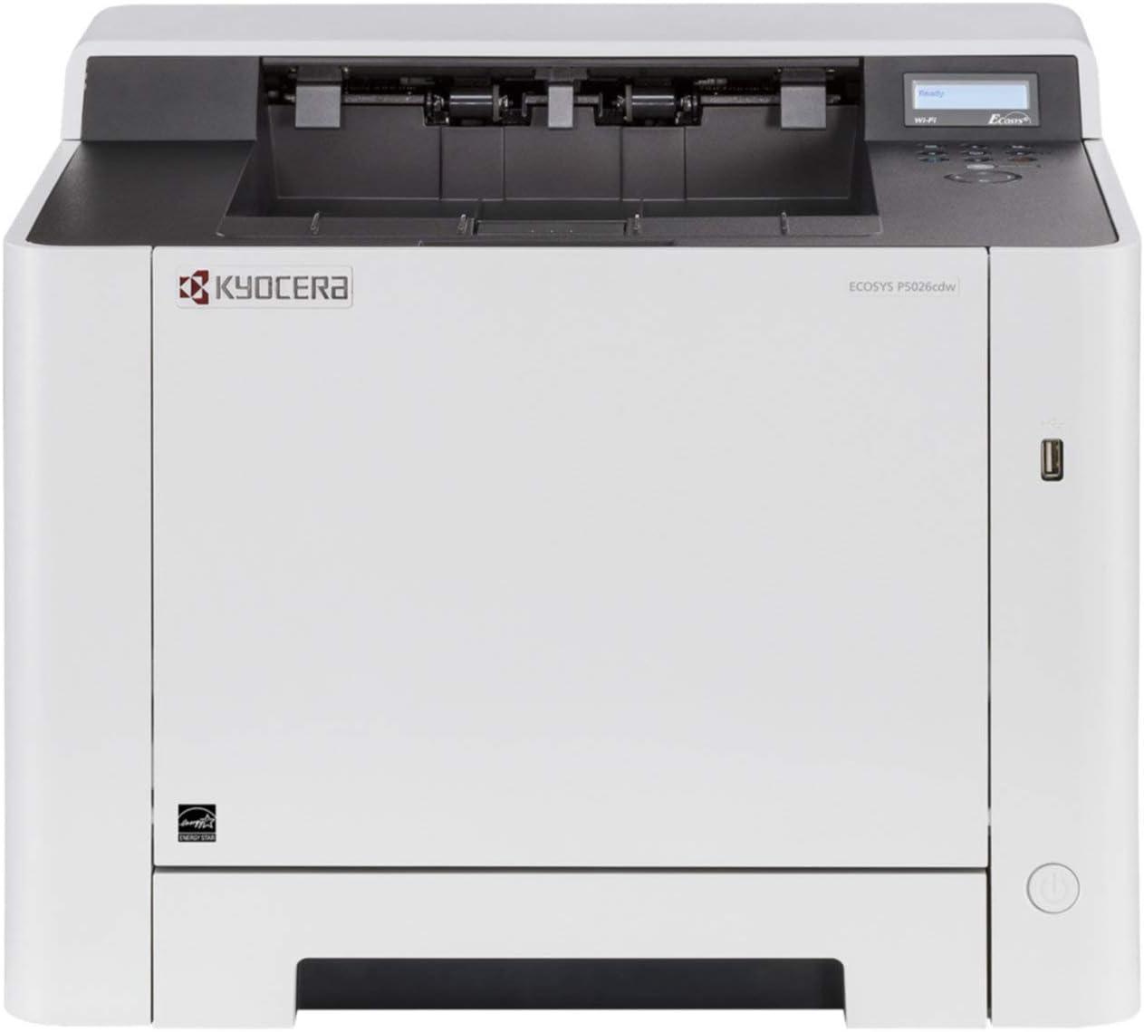 Kyocera Ecosys P5021cdn - Impresora láser a color (21 ppm, A4 ...
