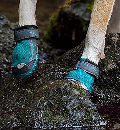 RUFFWEAR Grip TREX Dog Boots All Terrain PAW Protection Colors Set of 4
