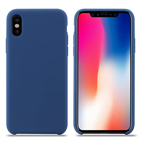 coque silicone iphone x apple