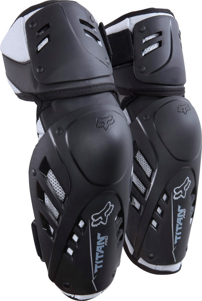 Fox Titan Pro Elbow Guards Black L/XL