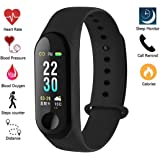 Junaldo M3i Fitness Band with BP,Heart Rate, Calorie Count and Many More Other Function
