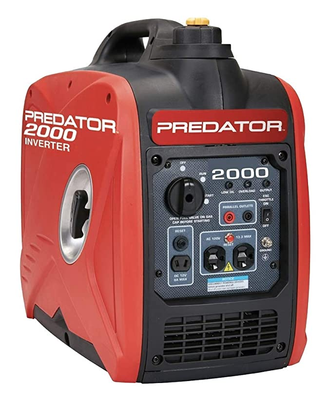 Super Quiet Small Camping Generator: Predator 62523 625233 Super Quiet Inverter Portable Generator