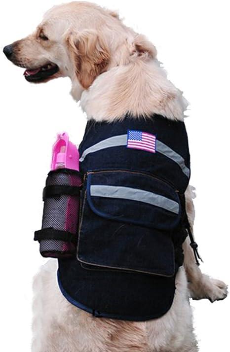 Mochila para perro estilo vaquero arnés correa diseño al aire ...