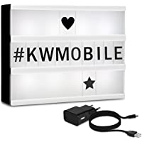 kwmobile Caja de luz cinematográfica LED A5
