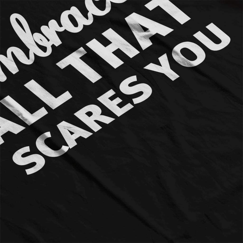 Embrace All That Scares You Kids T-Shirt