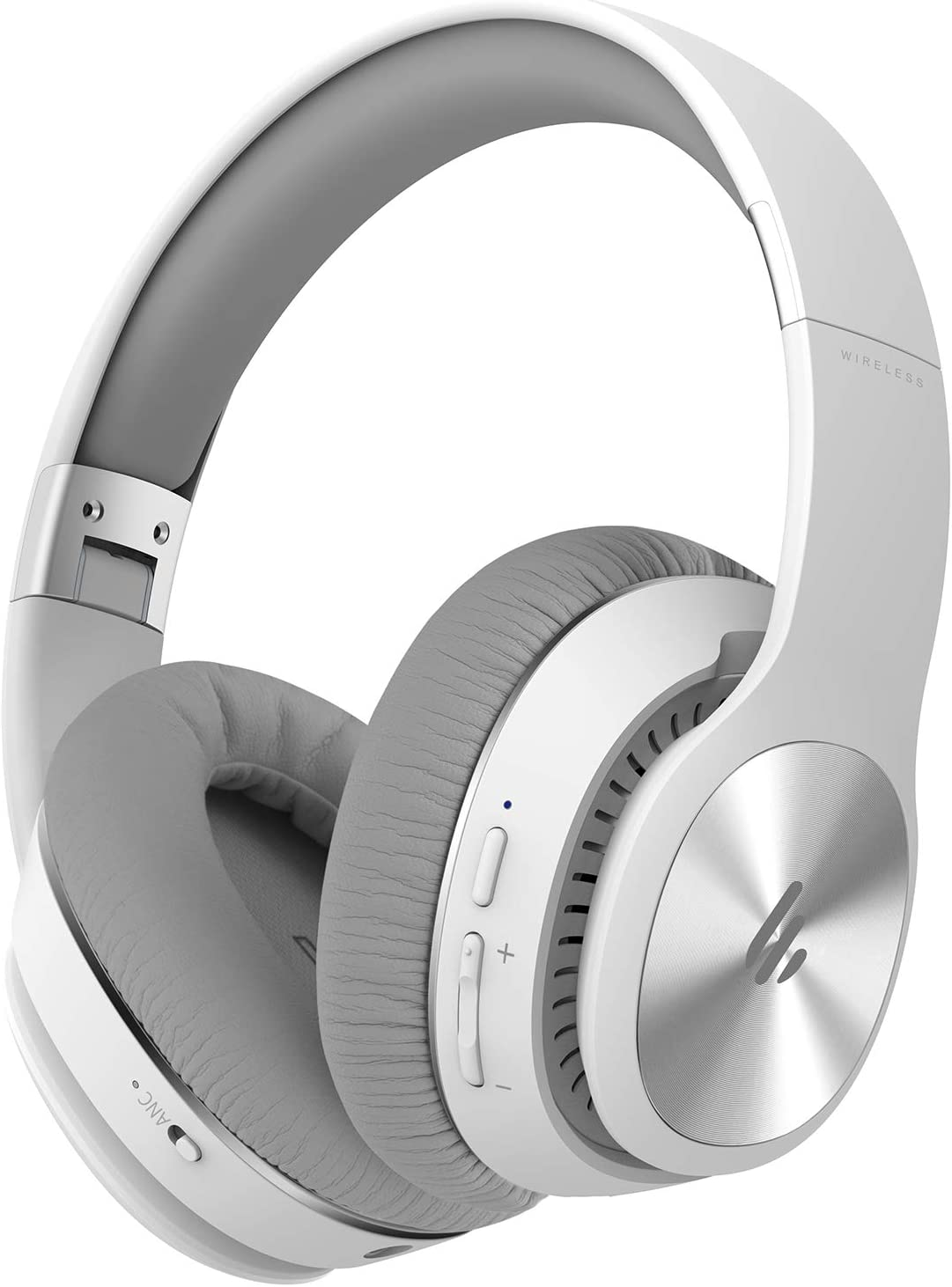 Edifier W828NB Wireless Bluetooth Headphones - Ergonomic, Active Noise Canceling (ANC) - White