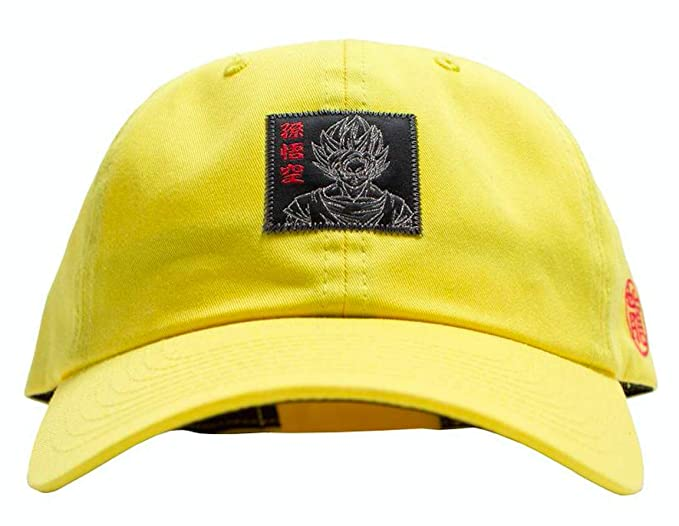 ec6806885f1 Image Unavailable. Image not available for. Color  Primitive x DBZ Goku  Reflective Strapback Hat