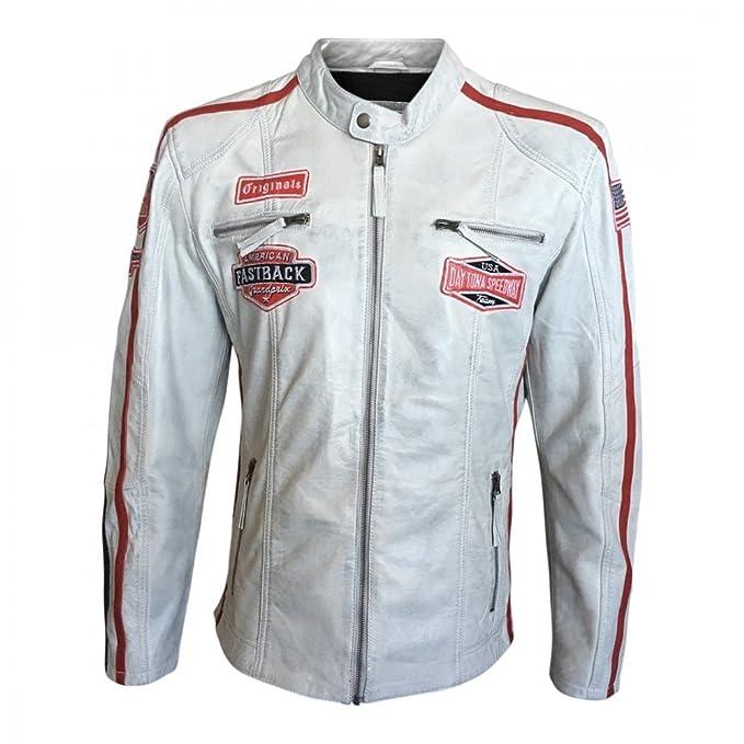 Grandprix Originals Speedway Vintage Men Leather Jacket