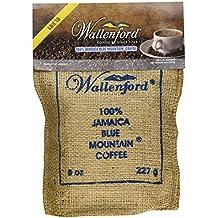 Roast and Ground 100% Jamaica Blue Mountain Coffee, 8oz Bag
