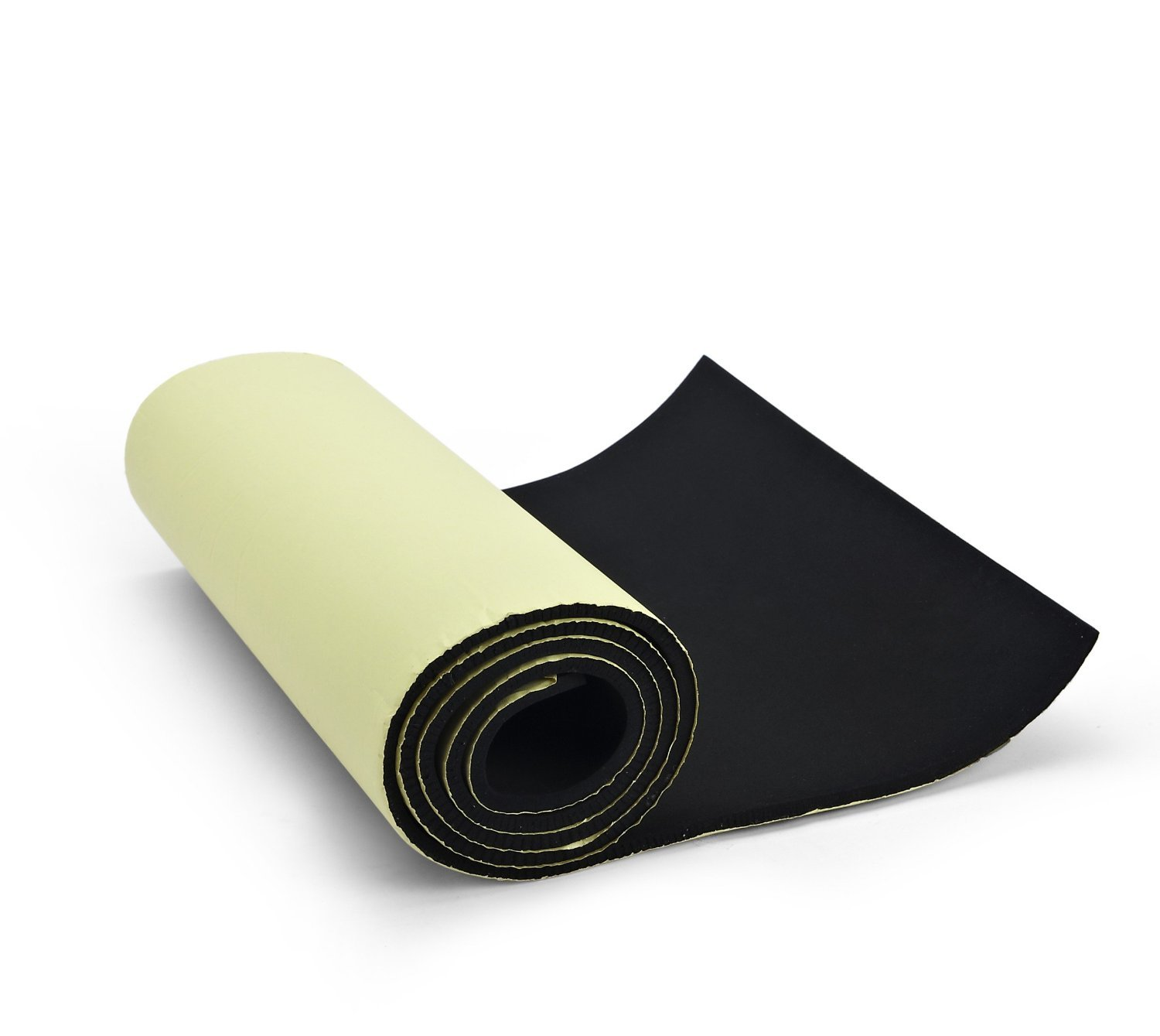 "Primode sponge Neoprene Roll, With Adhesive Bottom, For Multi Purpose Use, 1/4"" Thick X 14"" Wide X 58"" Long"