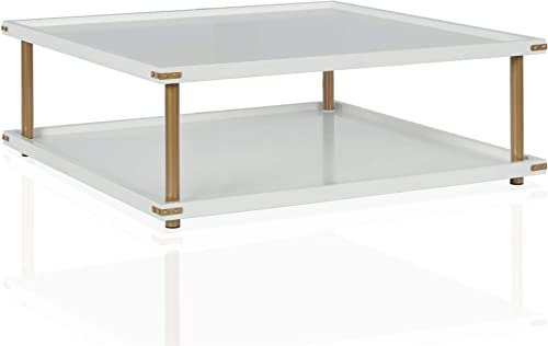 CosmoLiving by Cosmopolitan Volta Coffee Table White
