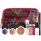 bareMinerals Wanderlust Tropics Collection :6 piece color collection +travel Bag