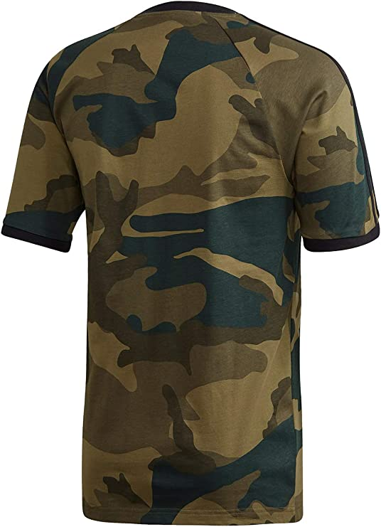 adidas Camo Cali T T Shirt Homme