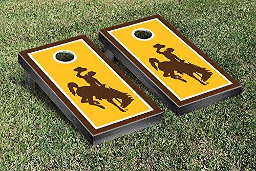 Victory Tailgate Wyoming Cowboys Regulation Cornhole Game...