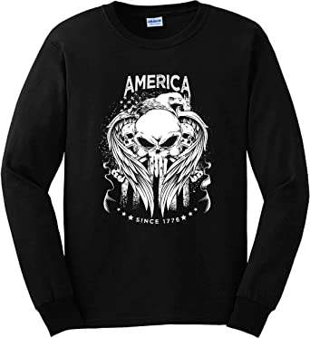 Sons Of Liberty Raising Hell Since 1765 Long Sleeve Shirt