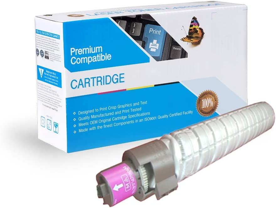On-Site Laser Compatible Toner Replacement for Ricoh 841287 Cyan C5000 Works with: Aificio MP C4000