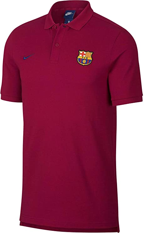 60f9bca14 NIKE 2018-2019 Barcelona Core Polo Shirt (Red). Roll over image to zoom in