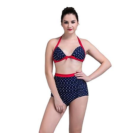 Conjunto de bikini de traje de baño para mujer Bikini de playa ...