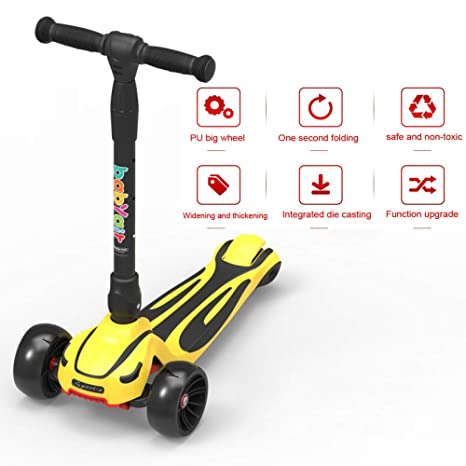 PIAOL Patinete para Niños Stunt Scooter Wheel Scooter ...