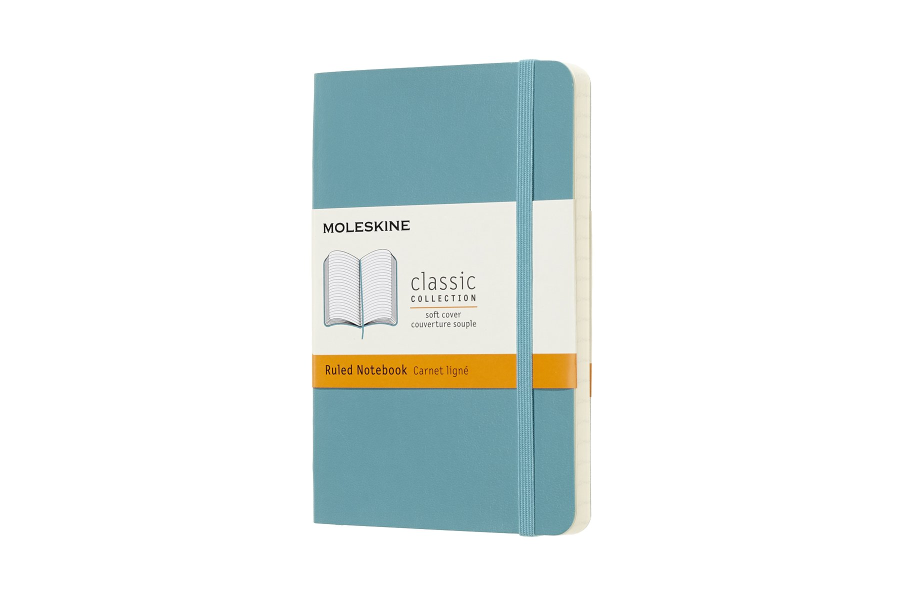 Moleskine Classic Soft Cover Notebook, Ruled, Pocket  ()