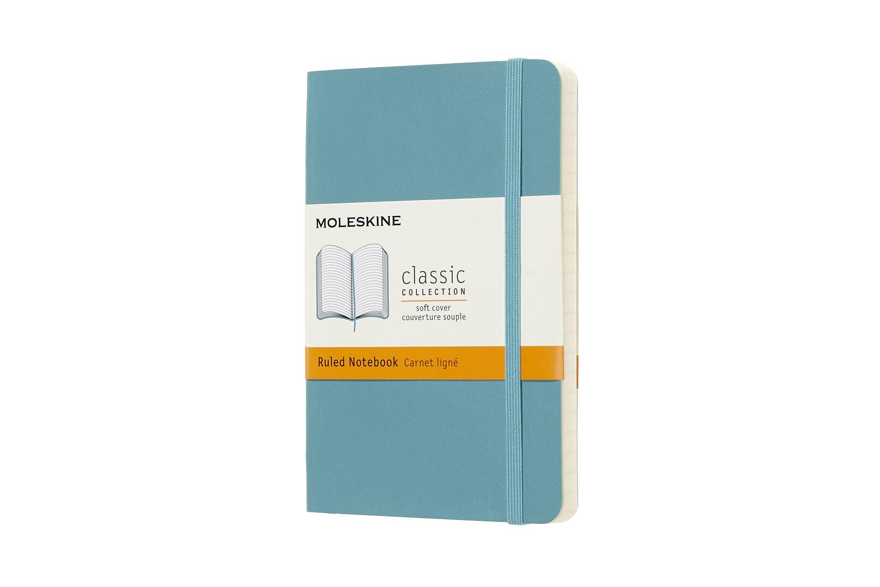Moleskine Classic Soft Cover Notebook, Ruled, Pocket  ()
