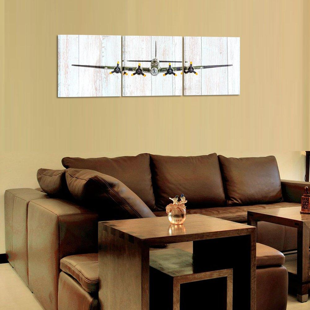 Amazon.com: Kreative Arts Vintage Airplane B-17 Flying Fortress ...