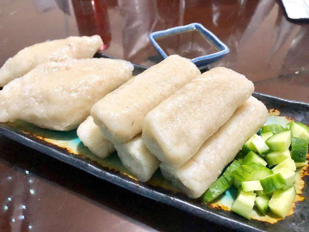 Empek-Empek Palembang Set 2 empek kapal selam, 5 lenjer and special sauce (cuko) (Pack of 4)