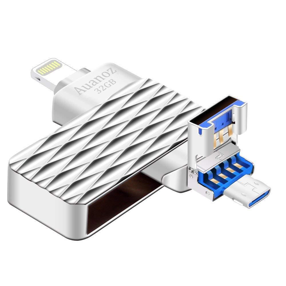 Memoria USB,Pen-Drive De 32 GB, Auanoz Jump Drive Tarjeta De ...