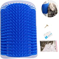 Cat Self Grooming Brush | Cat Scratcher Comb Massage Toy With Catnip Pouch Kitten Massaging Wall Corner Mounted Massage…