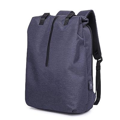 LZ Sac à dos hommes et femmes sac de voyage version à grande capacité de la sac à bandoulière mode tendance jeunesse simple et loisirs étudiants étudiants ordinateur éta