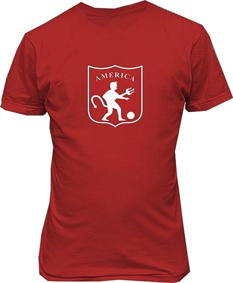 TJSPORTS America de Cali Colombia Futbol T Shirt Camiseta (Small)