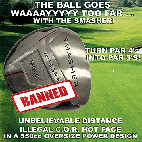 1 PGA Long Distance Integra Smasher Illegal Distance Banned Oversize 550cc Custom Golf Driver – Compare Taylormade Callaway Ping