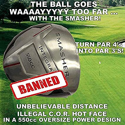 Amazon.com: # 1 PGA no conforma grandes 550 cc Smasher ...