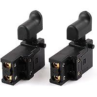 2 pcs AC 250 V 10 A momentáneo gatillo interruptor para Dragon eléctrico martillo