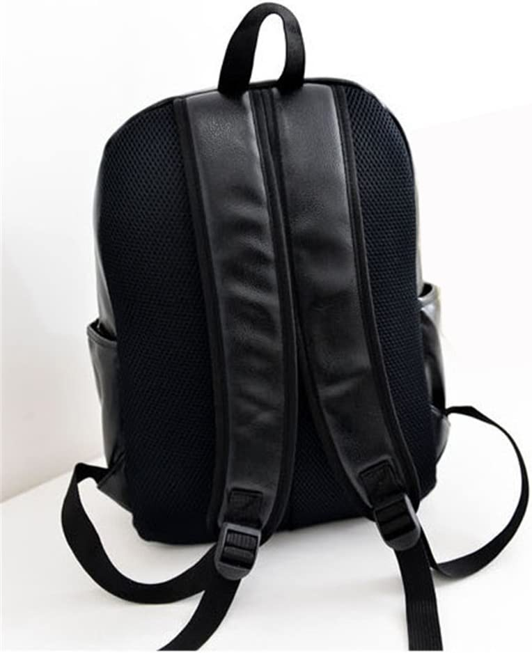 Backpack Hot Sale Unisex School Bag Travel Bag Laptop Bag Shoulders Bag Pu Beard