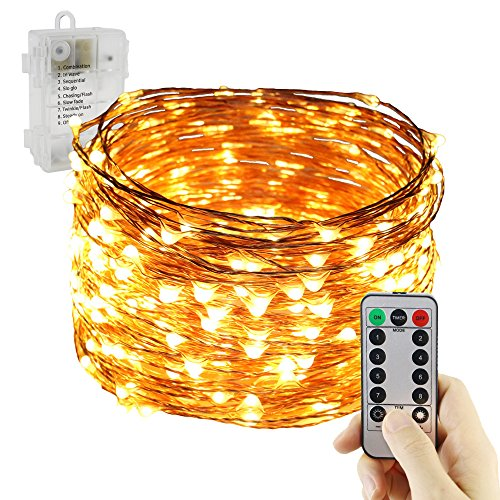 100 Ft Outdoor String Lights - 9