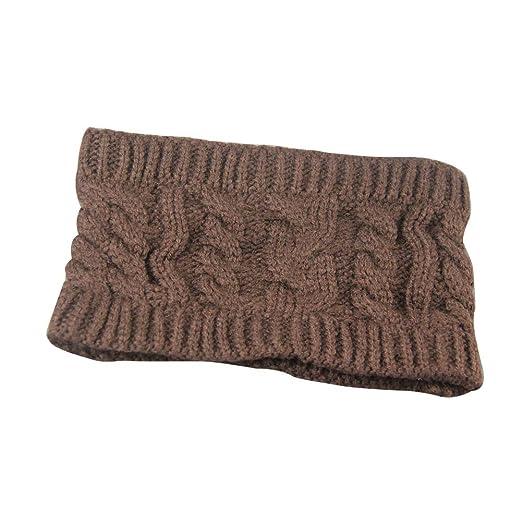 LINE-S Messy Bun Beanie Hats for Women Ponytail Headband 46960625e8b9