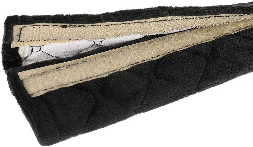 Seat Belt Strap Cover Car Seat Belt Comfort Harness Pad Seat Belt Extender Safety Belt Strap Shoulder Pad Adjuster for Adults and Children Yumi V 2 Pack Seat Belt Pads Gray