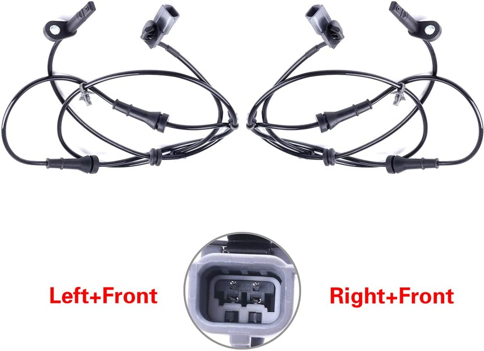 SELEAD Left+Right+Front ABS Wheel Speed Sensor Fit For 2013-2016 Nissan Sentra ALS2551 479103DA0A brake sensor 2PCS