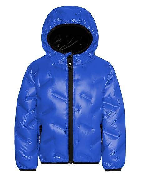 Amazon.com: Durio - Chaqueta de invierno con capucha, cálida ...