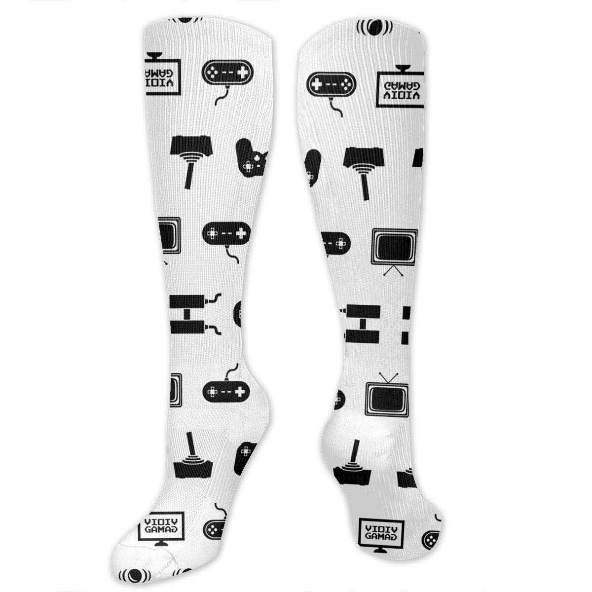 Athletic Ygsdf59 Video Games Compression Socks for Women and Men Travel Varicose Veins Best Medical,for Running