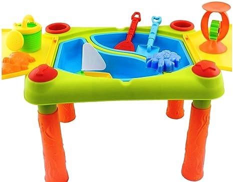 Tavoli Da Gioco Per Bambini : Ampio tavolo da gioco con sabbia e acqua in con copertura