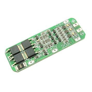 3S 12.6V 20A Batería de Litio de ión de Litio 18650 Cargador de ...