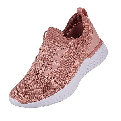 5d454ca0b6048 Amazon.com: JJLIKER Women's Mesh Casual Sport Shoes Comfortable ...